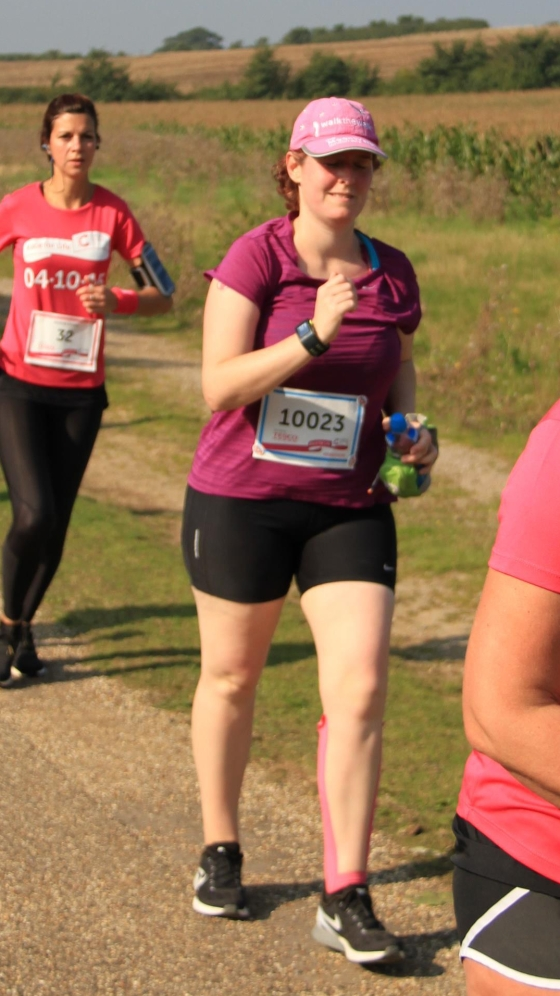 Race for Life Marathon 2015