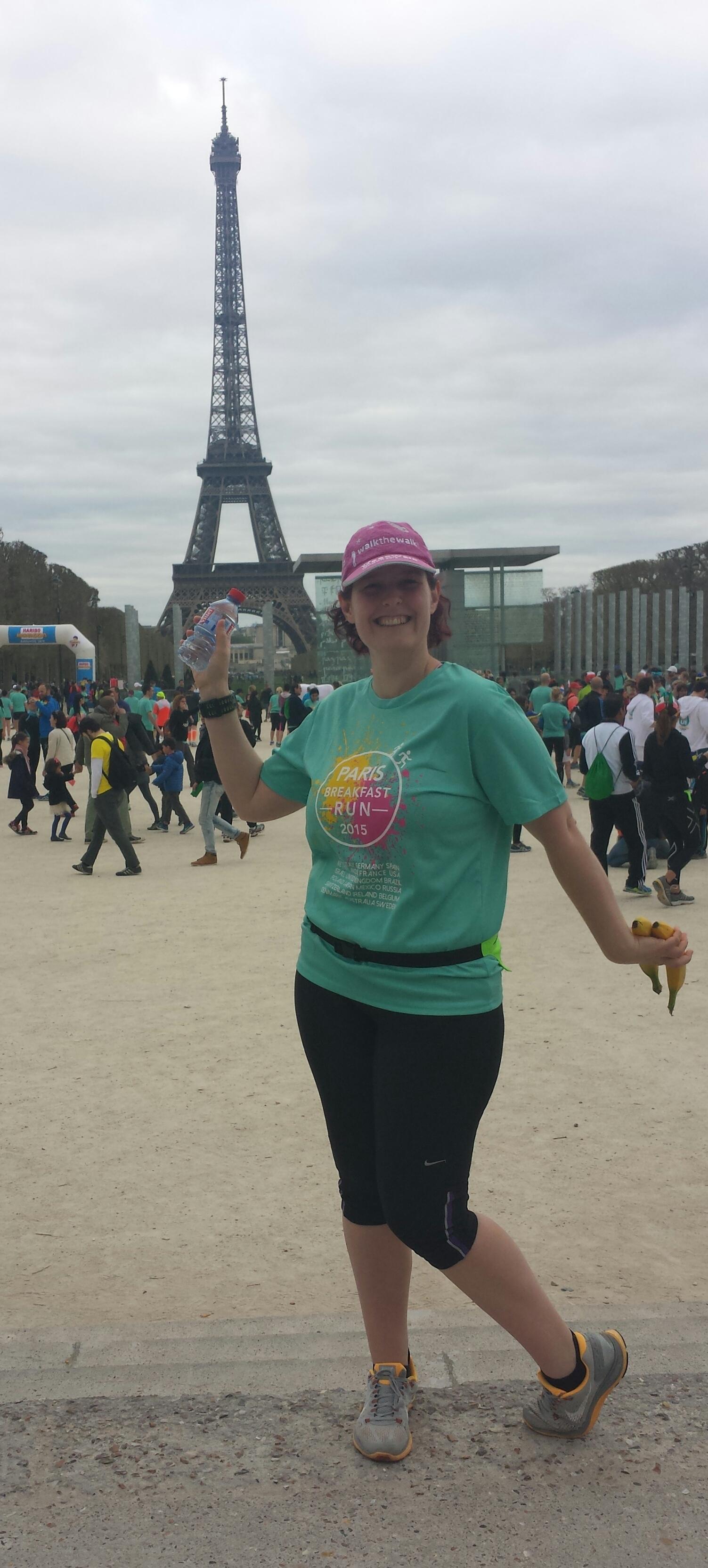 Paris Marathon 5km Breakfast Run 2015