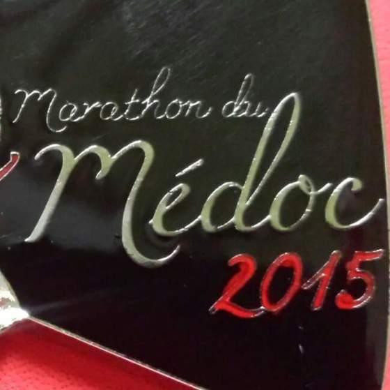 Medoc Marathon 2015 medal